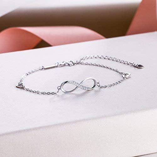 Smaller Design 925 STERLING SILVER /' INFINITY/' BRACELET Excellent Gift