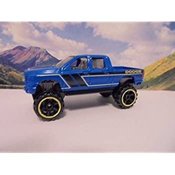 Dodge Trucks 2016 >> Amazon Com Hot Wheels 2016 Hw Hot Trucks Dodge Ram 1500 Blue