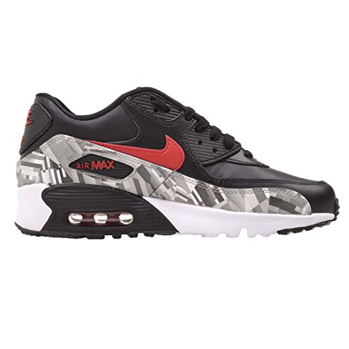 de Black Air grey 90 Zapatillas deporte Red 2007 Nike Max FqUP5n0