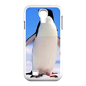 [Penguin Series] Samsung Galaxy S4 Case Penguin, Samsung Galaxy S4 Case Luxury Zachcolo - White