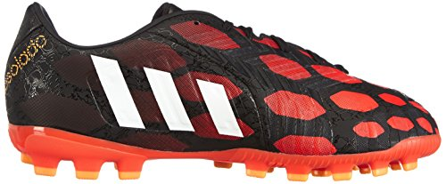 Adidas P Absaldo J AG Jungen Fußballschuhe Schwarz (core black/core white/solar red)