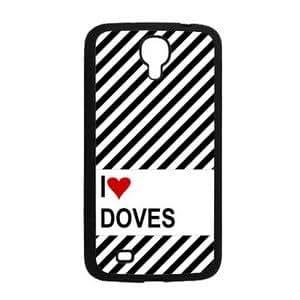 """Love Heart Doves Samsung Galaxy Mega 6.3"""" i9200 Case - Fits Samsung Galaxy Mega 6.3"""" i9200"""