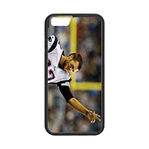 Generic Cell Phone Cases For Apple Iphone 6 Cell Phone Design With 2015 NFL #12 Tom Brady American football quarterback for the New England Patriots niy-hc839834