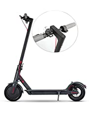 Aluminum Alloy Electric Scooter Adult Electric Folding Bike Powerful With LED-Waterproof Digital Display, 25KM/H, 36V/30KM Kick Scooters,Electronic Brake + Physical Brake 11'' E-Scooter