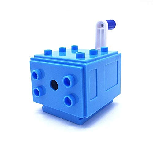 Sannysis Cartoon Car DIY Building Blocks Manual Pencil Sharpener Stationery School Gifts ()