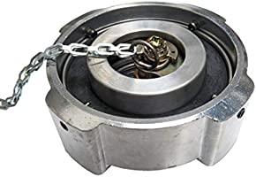 Road King Truck Parts 3 1//2 1//4 Turn Aluminum Locking Diesel Fuel Cap for Freightliner Trucks