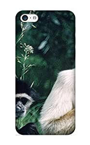Awesome MllxSk-3791-UPInS Turnleft Defender Tpu Hard Case Cover For Iphone 5c- Animal Monkey