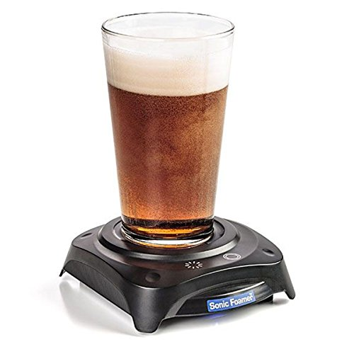 Beer Aerator - Sonic Foamer Uses Sound Waves To Create The Perfect Beer Head - Release The Full Aromatic Potential