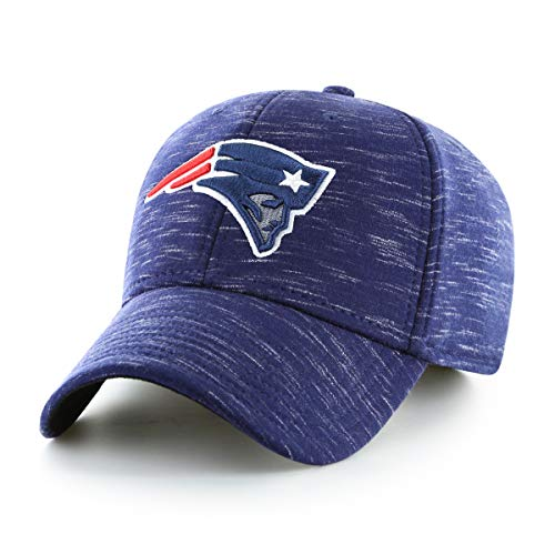 OTS NFL New England Patriots Male Space Shot All-Star Adjustable Hat, Navy, One Size
