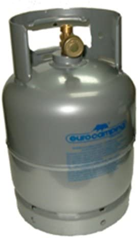 Bombona gas GLP de kg 3 vacía recargable de camping viaje ...