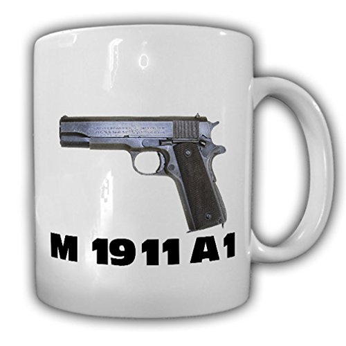 Hakim US Army Pistol Caliber 45 Automatic Government M1911 M1911A1 Self-loading pistol - Coffee Cup - Pistol M1911a1