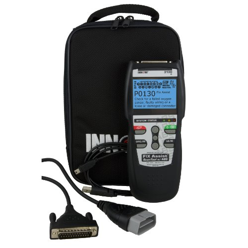 INNOVA 3130 Diagnostic Code Scanner with Live, Record and Playback Data Capability for OBDII Vehicles (New BW Screen)