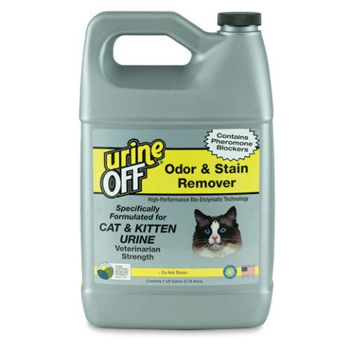 Image of Urine Off Cat & Kitten Stain & Odor Remover Gallon