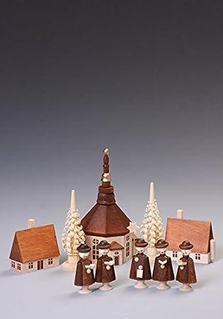 Figurki bożonarodzeniowe Przedmioty od 1945 Kurrendefiguren Höhe 4,5 cm Tischdeko Erzgebirge NEU Figuren Weihnachten Kirche