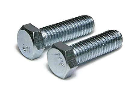 100 Hex Head 3//8-24 x 2 Cap Screws Grade 5 Zinc Plated