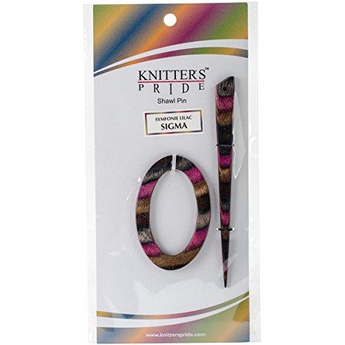 Knitter's Pride Lilac Sigma Shawl Pin 500107