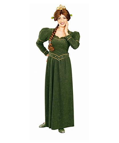Deluxe Princess Fiona Costume - Standard - Dress Size 10-12 (Fiona Adult Costume)