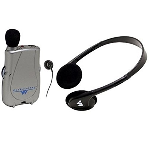 Williams Sound PockeTalker Ultra Duo Personal Sound Amplifier - Includes Headphone, Earphone by Williams Sound
