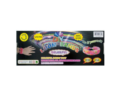 Loom Band Kit - 32 Pack by bulk buys