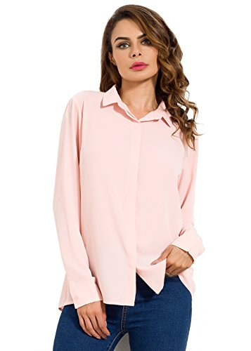 わざわざ先駆者エージェントMOQUEEN SHIRT レディース カラー: ピンク