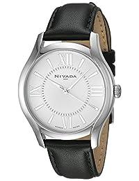 Nivada NP16160LACPR Reloj Cuarzo Análogo, color Blanco/Negro
