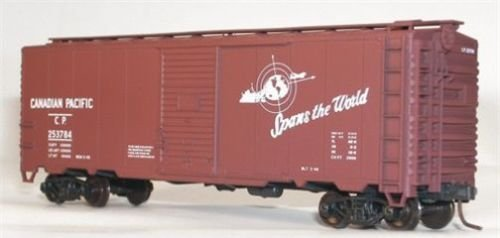 Accurail 35239 HO Scale KIT HO 40 FT AAR Single Door Boxcar CP (Aar Door Boxcar Single)