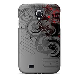For Galaxy S4 Tpu Phone Case Cover(design)
