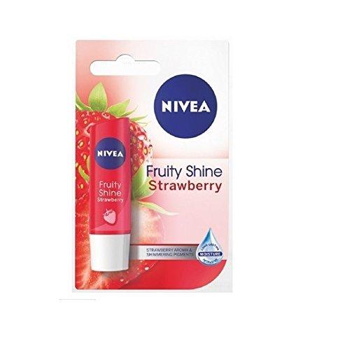 Nivea Fruity Shine Strawberry Lip Balm - 2