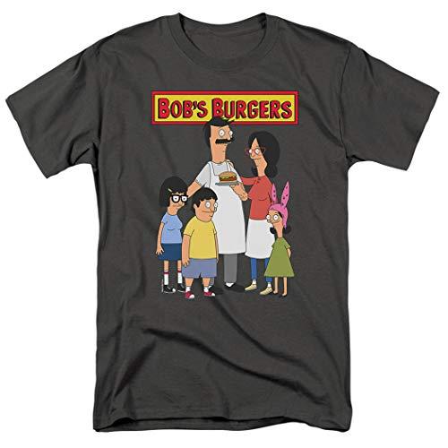 Bob's Burgers Bob and Family T Shirt & Stickers (Large) ()