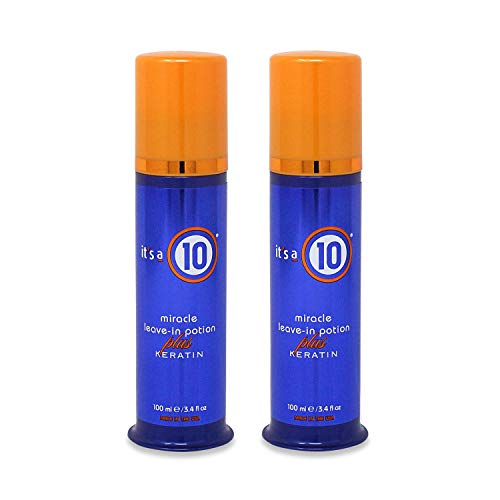 It's A 10 Miracle Leave In Potion Plus Keratin, 3.4 Fluid Ounce (Pack of - Leave Products