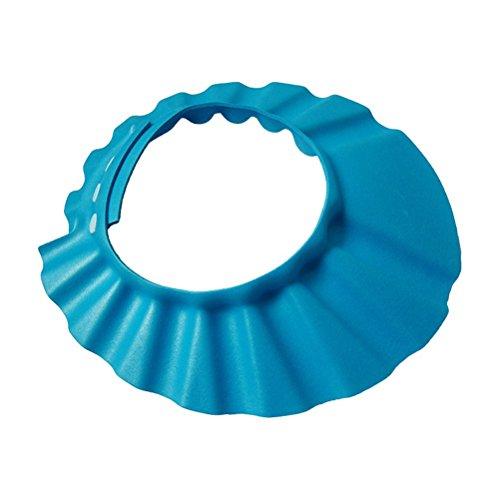 Durable Modelando bestomz bebé ajustable Champú Ducha Baño Proteger Tapa lavar  Gorra 46d61c0662e