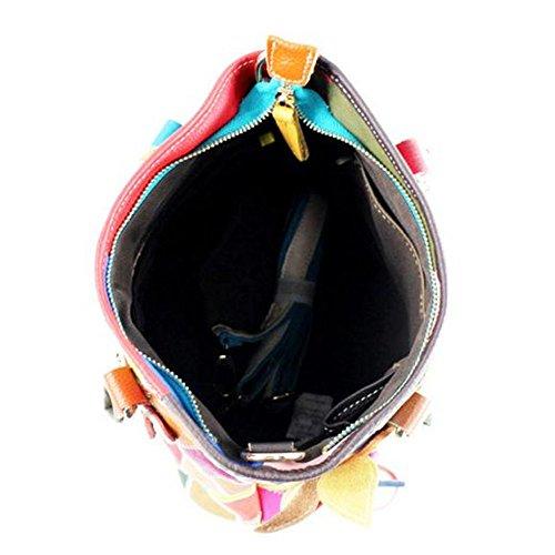 mélangées Couleurs Couleurs mélangées 9cm Eysee 35cm Pochette 33cm pour Multicolore femme wxxqvz4IA