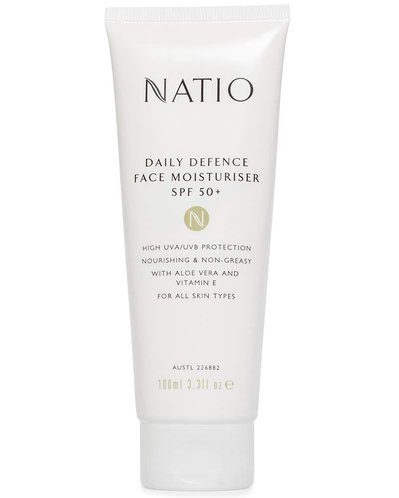 Natio Daily Defence Face Moisturiser SPF 50+, 100ml: Amazon.in: Beauty