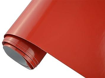 Autofolie metallic Orange hochglänzend 152 cm x 50 cm Luftkanäle