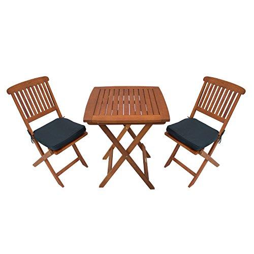 Sunward Outdoor Bistro Sets / Patio Table Sets / Bistro