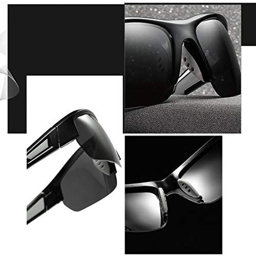 Al Mirror Hombres Deportivas Libre Sol Parabrisas Gafas De Polarizadas Gafas Gran Frame Aire Paseos Para wxOqIY48