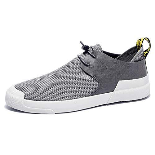 Size da WangKuanHome di scarpe Gray estiva denim 44 casual di da uomo Color scarpe Scarpe tendenza tela uomo tela Gray scarpe selvaggia 4SwqxH4ZA
