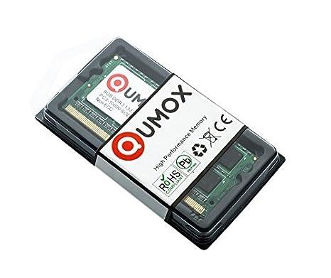 QUMOX RAM 8GB Memoria SO-DIMM DDR3 1333 PC3-10600 PC3 204pin CL9 para Ordenador portátil: Amazon.es: Electrónica