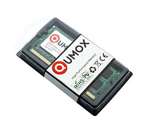 842 opinioni per QUMOX 8GB DDR3 1333 8 GB PC3-10600 SO-DIMM PC3 RAM memoria del computer