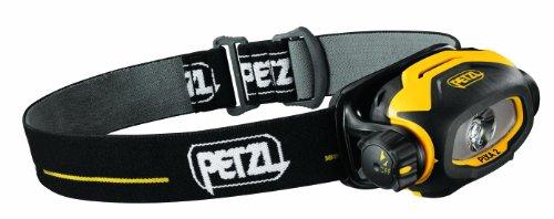 Petzl Erwachsene Stirnlampe Pixa 2, Schwarz/Gelb, One Size, E78BHB