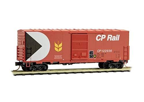 Micro-Trains MTL N-Scale 40ft SD Box Car Canadian Pacific/CP Rail (Red) #122936