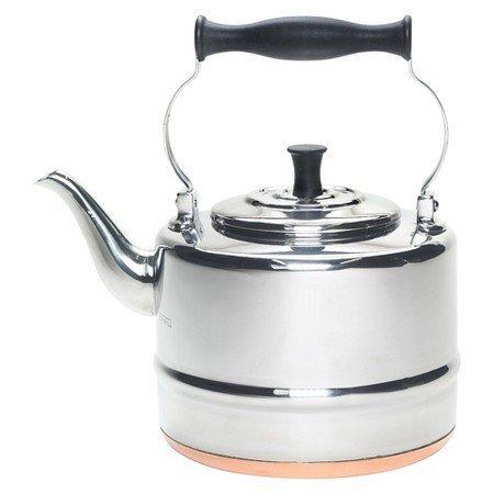 New New BonJour Tea 2 Qt. Stainless Steel Teakettle by BonJour