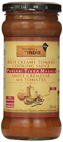 Kitchens Of India Punjabi Cikka Masala - Rich Creamy Tomato Cooking Sauce, 12.2 Ounce - 6 per case.