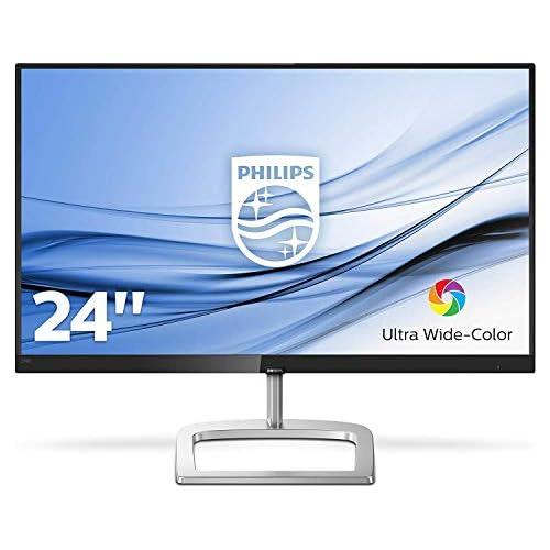 chollos oferta descuentos barato Philips Monitor 60 5 cm 23 8 1920 x 1080 Pixeles Full HD LCD 5 ms Negro Plata