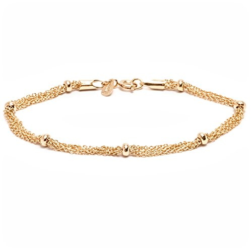 Gold Plated Multi Strand Ring Bracelet product image