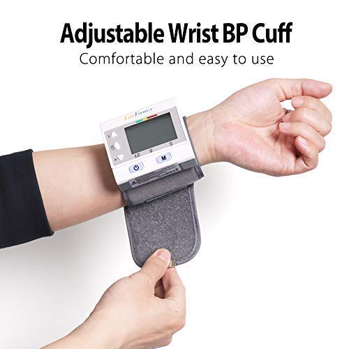 Wrist Pressure Sphygmomanometer with Case, User, Approved