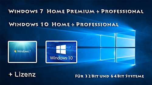 windows 7 32 bit zu windows 10 64 bit