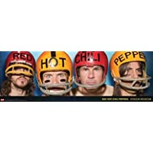 Red Hot Chili Peppers Helmet Heads Rock Music Poster 12 x 36 inches