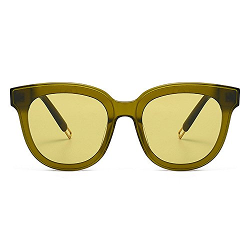 sol gato Playa Gafas sol de Gafas de UV de de fibra acetato Ojos simples hombres hombre Lente Conducción de de nylon Ultra Marco de ligero Pesca vacaciones Verde libre aire al para Protección los de nq4wA7f