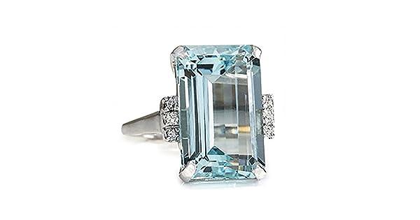 Uscharm Anillos de boda baratos para mujer diamante anillo ...
